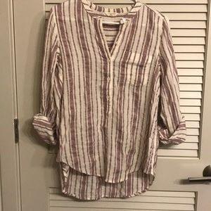 Lucky Brand cotton/ polyester 3/4 sleeve top